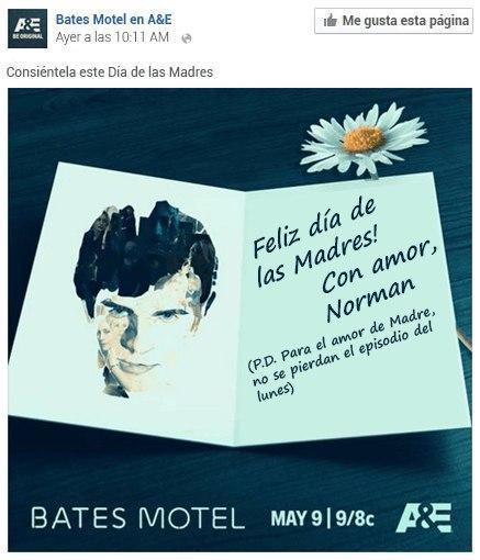 """Anuncio """"Bates Motel"""" de A&E"""