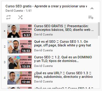 Serie de videos