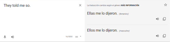 Mejoría de Google traductor