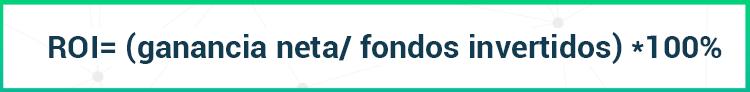 Fórmula ROI
