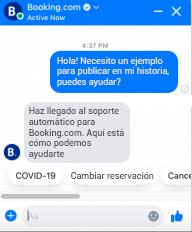Ejemplo de chatbot