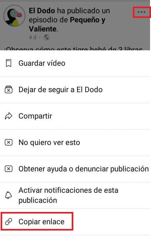 Cómo descargar vídeos de Facebook en el celular